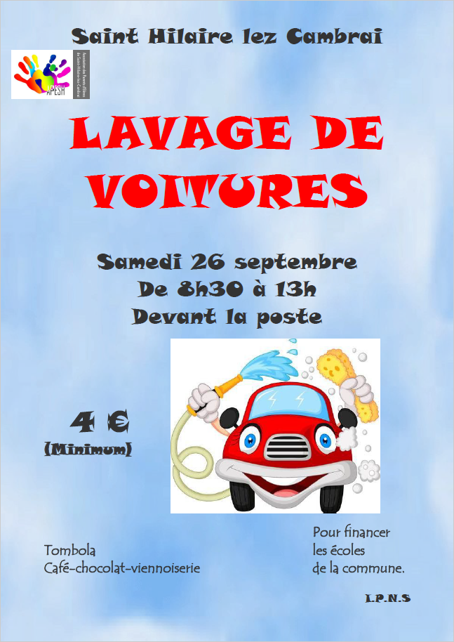 Lavage voitures apesh